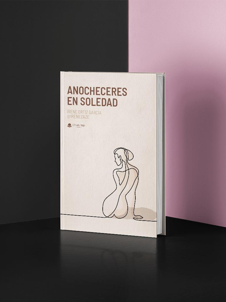 Maqueta libro Anocheceres en soledad